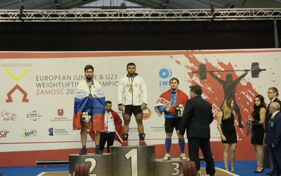 Второ злато за България на младежкото Евро 2018 по вдигане на тежести