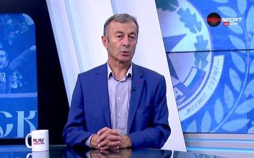 Пламен Марков разкри дали ЦСКА ще привлече Анита и говори за бъдещето на Томаш