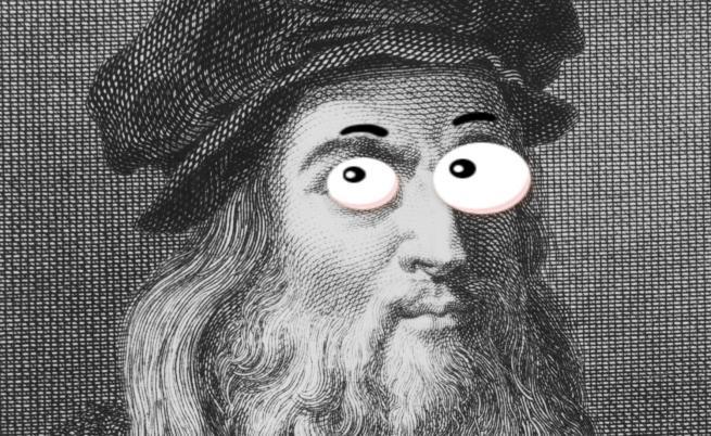 Кривогледство ли се крие зад гения на Леонардо да Винчи