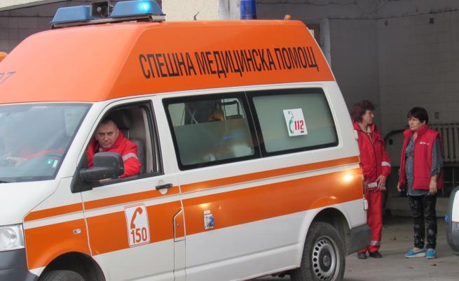Пиян шофьор на линейка катастрофира в Пловдив