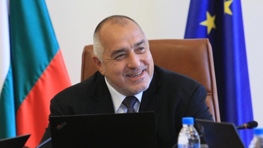 """Борисов е писал за подкрепа за закона """"Макрон"""""""
