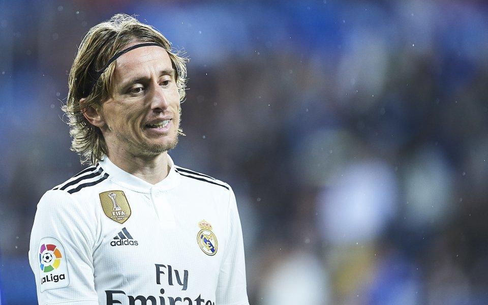 Звездата на Реал Мадрид Лука Модрич е под сериозен въпрос