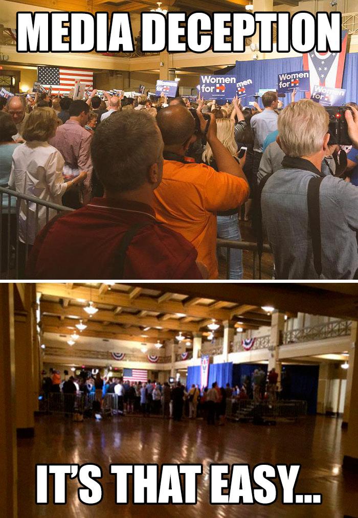 Събитие с Хилари Клинтън в Охайо.