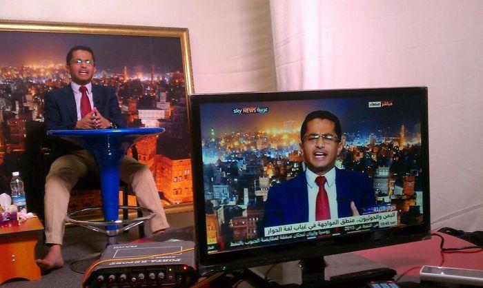 Телевизионни новини.