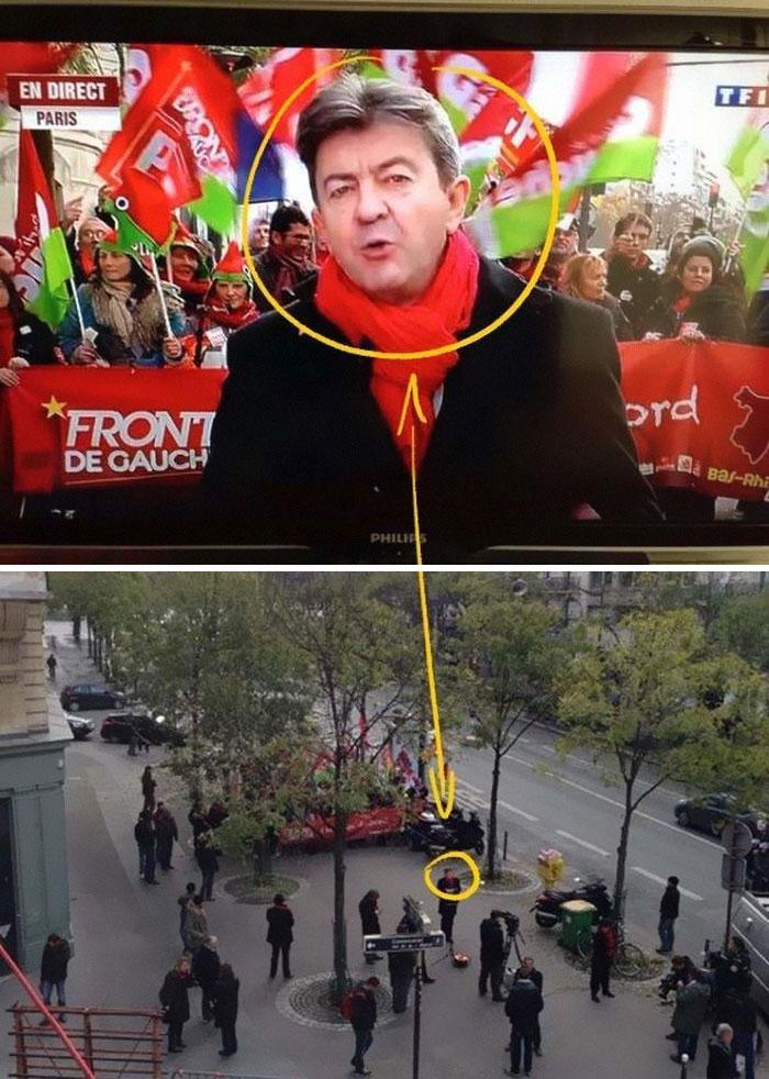 Протест срещу повишаването на данъците в Париж.