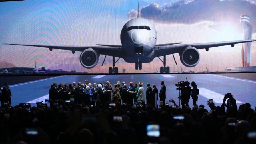 """Разширяването на летище """"Истанбул"""" се планира да завърши през 2028 г."""