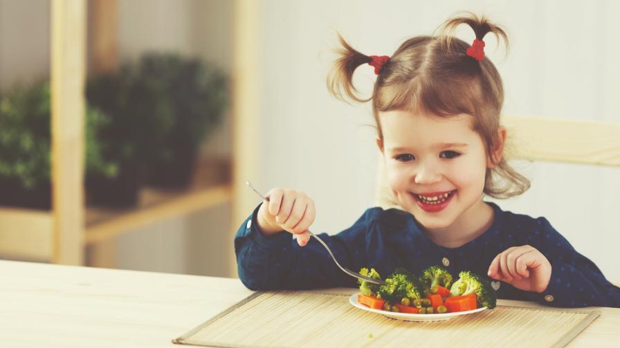 <p>Kак една майка изкушава децата си с плодове и зеленчуци</p>