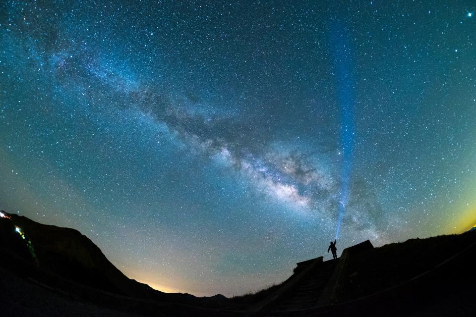 звезди небе нощ космически връзки