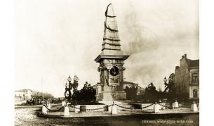 Чех създава една от градските светини – Паметника на Васил Левски