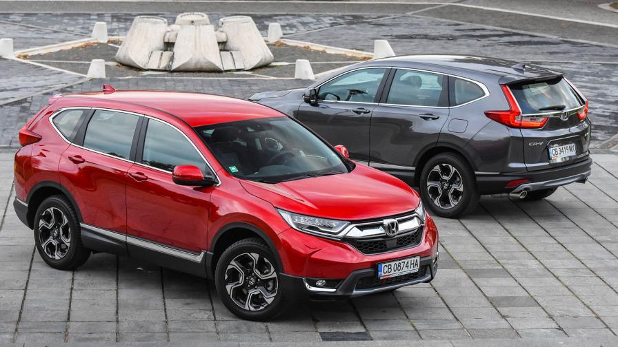 Където философията на карате среща Honda CR-V (тест драйв)