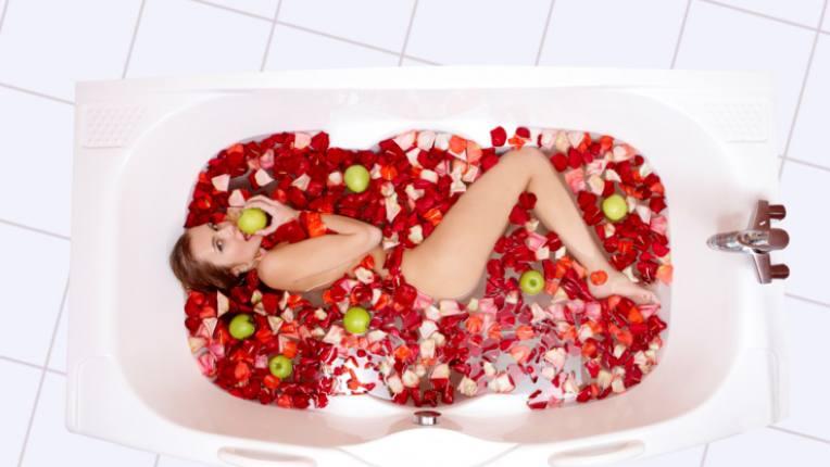 спа вана цветя