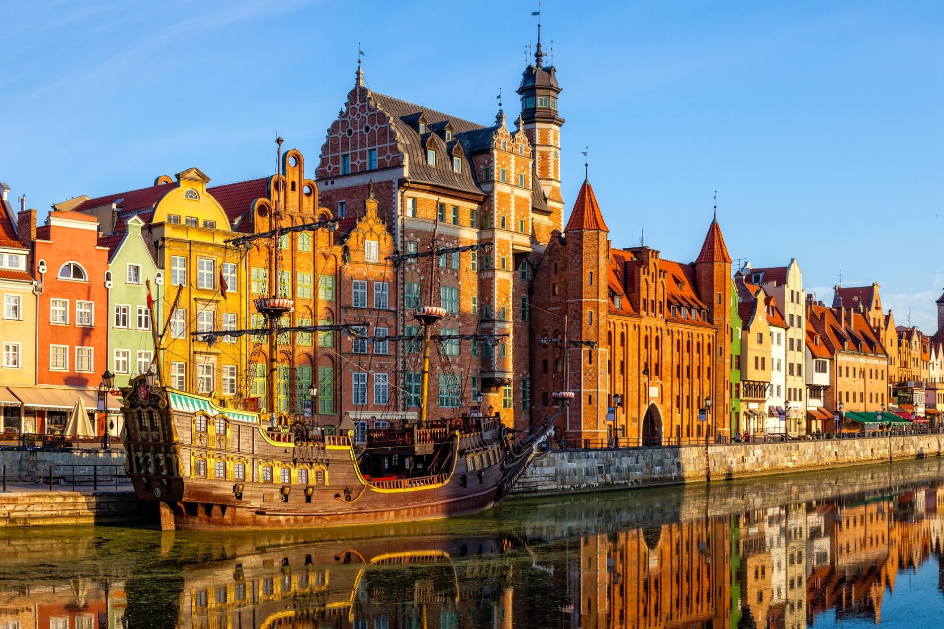 Изглед към Гданск