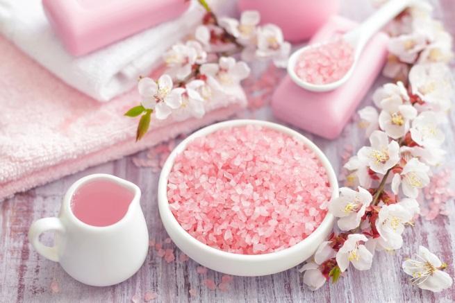 морска сол баня вана релакс