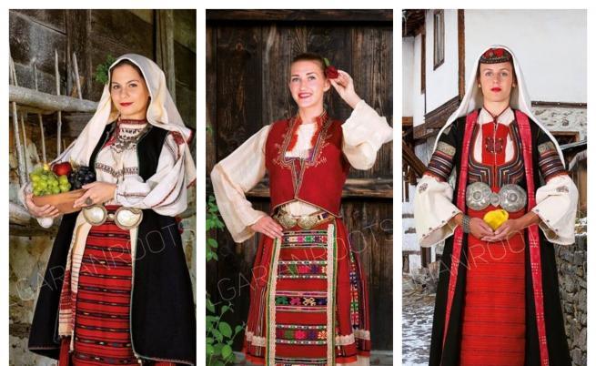 Българки се премениха в 100-годишни носии