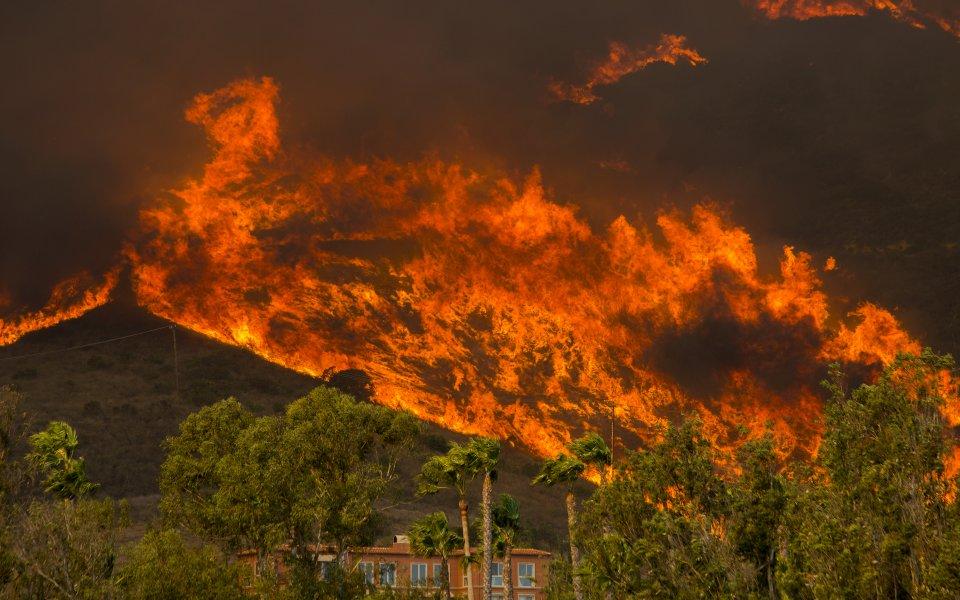 Имението на Кевин Дюрант заплашено от големия пожар