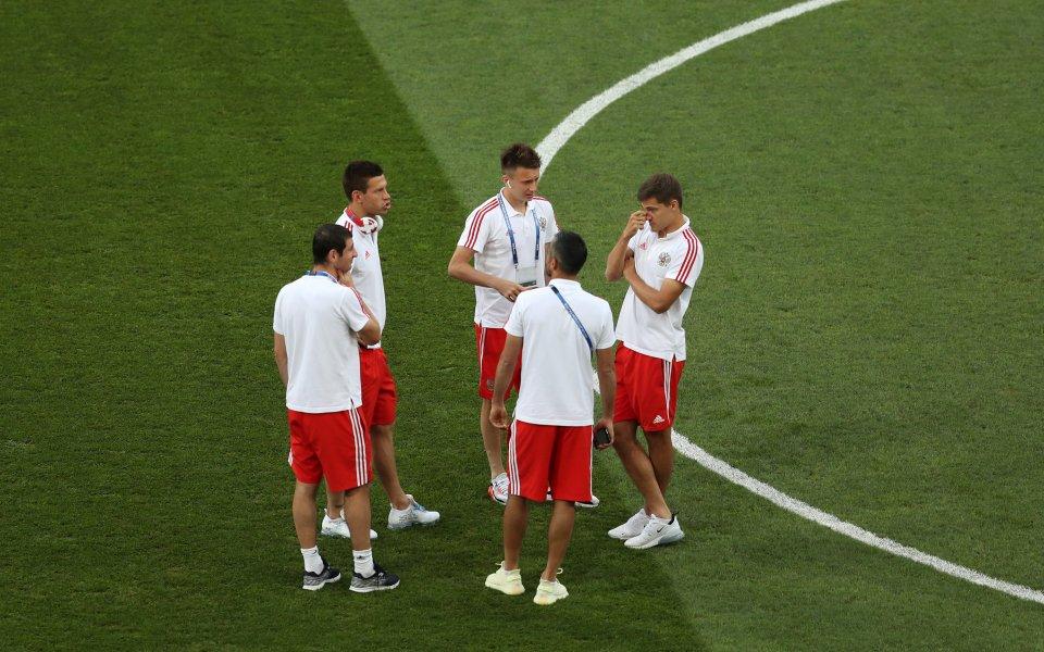 Трима руски национали пропускат мача с Германия