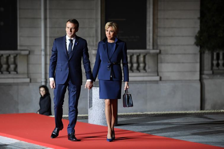 първите дами и лидерите в Париж