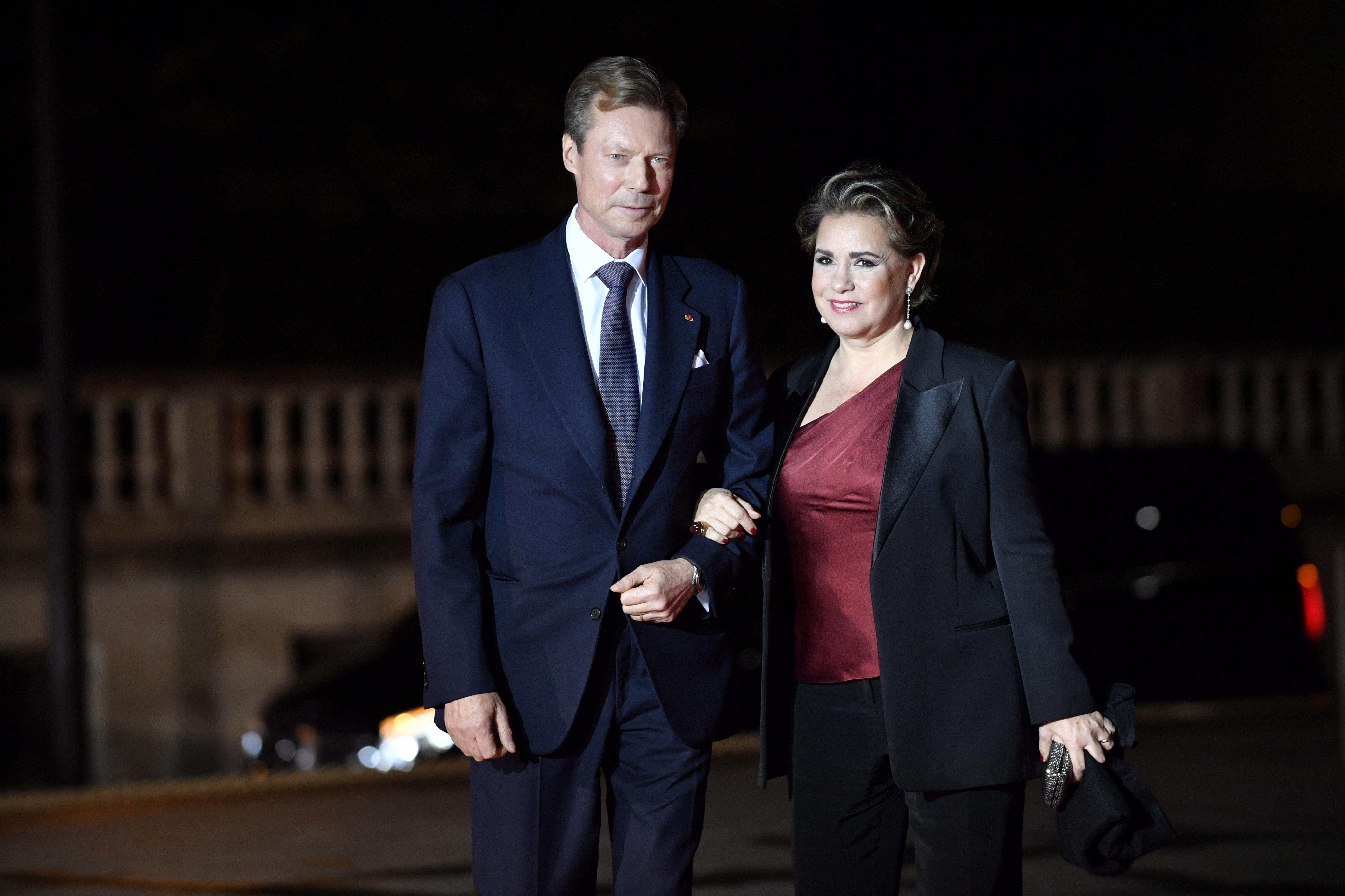 Велик херцог на ЛюксембургАнри Люксембургски и херцогиня Мария-Тереза