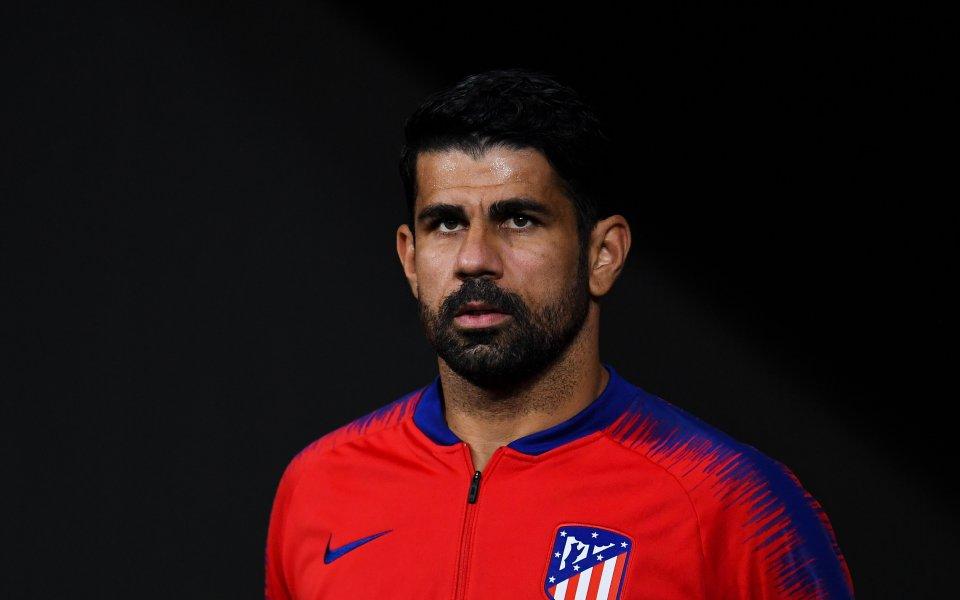 Нападателят на Атлетико Мадрид Диего Коща е преминал изследвания поради