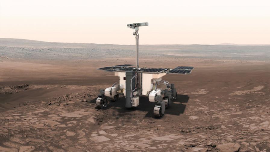 Марсоходът на мисията ExoMars