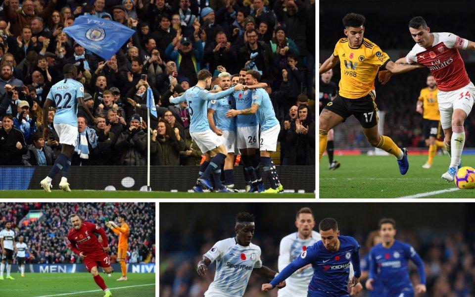12-ият кръг в Англия: Манчестър е син, а Челси и Арсенал грешат у дома
