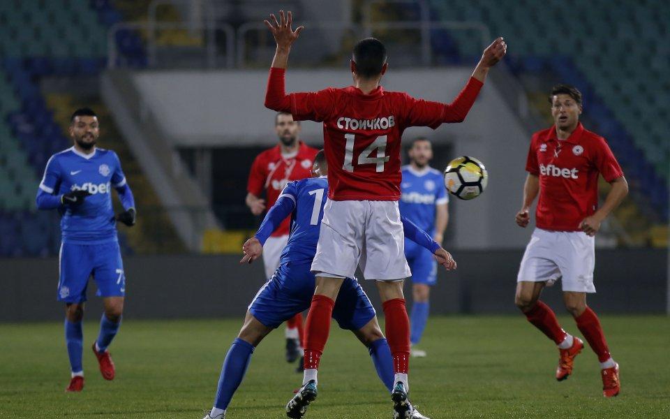 ЦСКА 1948 записа победа в първия си международен мач