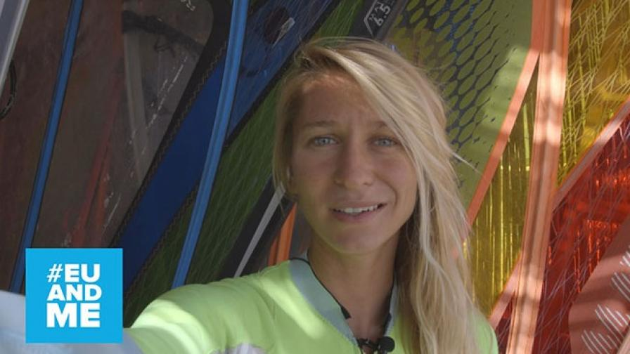 """Илияна Стоилова, уиндсърфист: """"Харесва ми да бъда в унисон с водната стихия"""""""