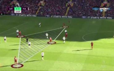 Ролята на Джердан Шакири в Ливърпул