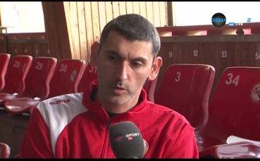 Сашо Попов и Владо Николов в очакване на ЦСКА - Левски