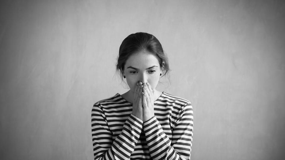 жена тъга