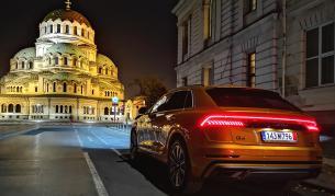<p>Audi Q8 е като катедрала на колела (тест драйв)</p>