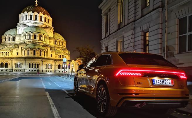 Audi Q8 е като катедрала на колела (тест драйв)