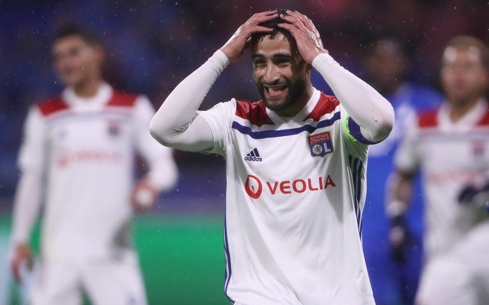 Арсенал е неспособен да си подсигури услугите на Набил Фекир