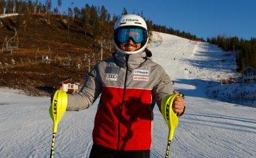 Алберт Попов ще стартира на слалома във Финландия
