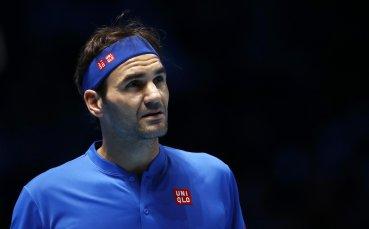 Перфектен Федерер в решителния мач, стигна до полуфинал в Лондон