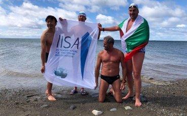 Последна тренировка за Петър Стойчев в Магелановия проток преди Антарктида