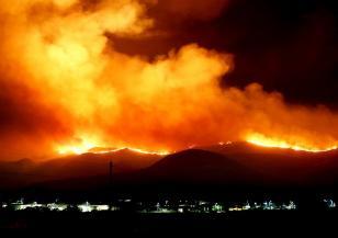 Дрон засне опустошението след пожарите в Калифорния