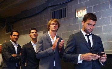 Григор анализира играта на Федерер и Джокович