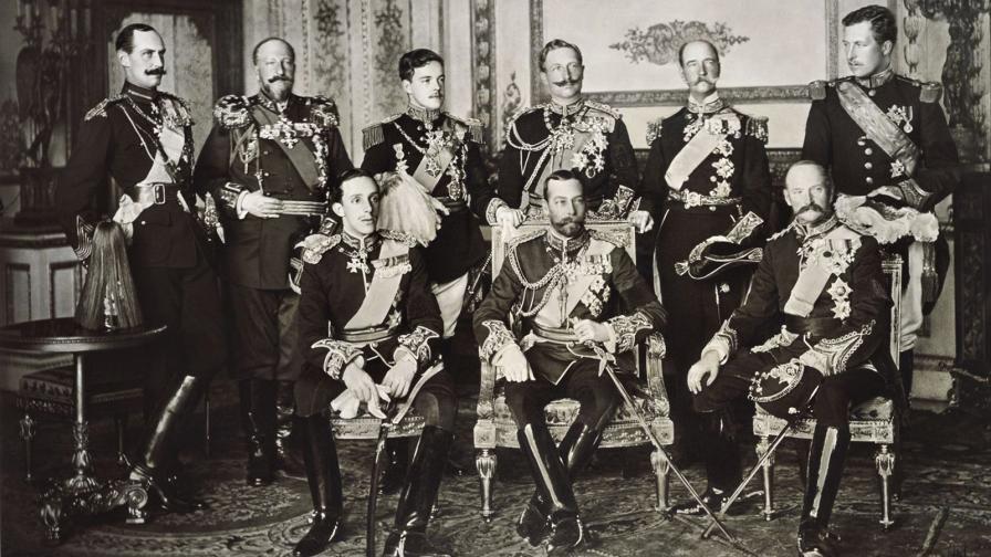 Деветима крале на една снимка, сред тях и Фердинанд