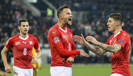 Швейцария съсипа Белгия в истинско зрелище
