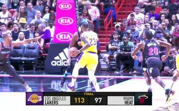 Обзор на мачовете от НБА /18 ноември 2018/