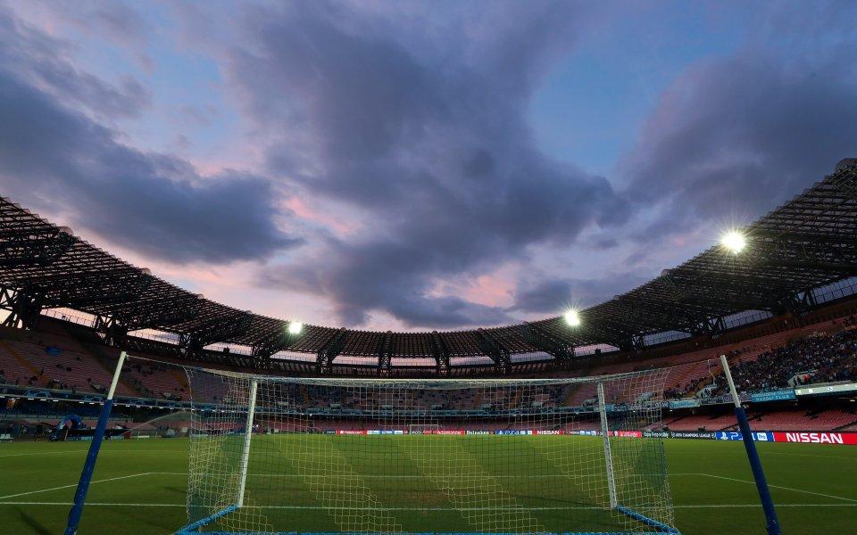 """Наполи скоро ще има освежен ремонтиран стадион""""Сан Паоло"""".Съоръжението ще разполага"""
