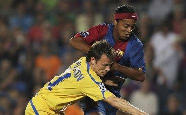 12 г. от Левски - Барселона и появата на Роналдиньо пред бг-публика
