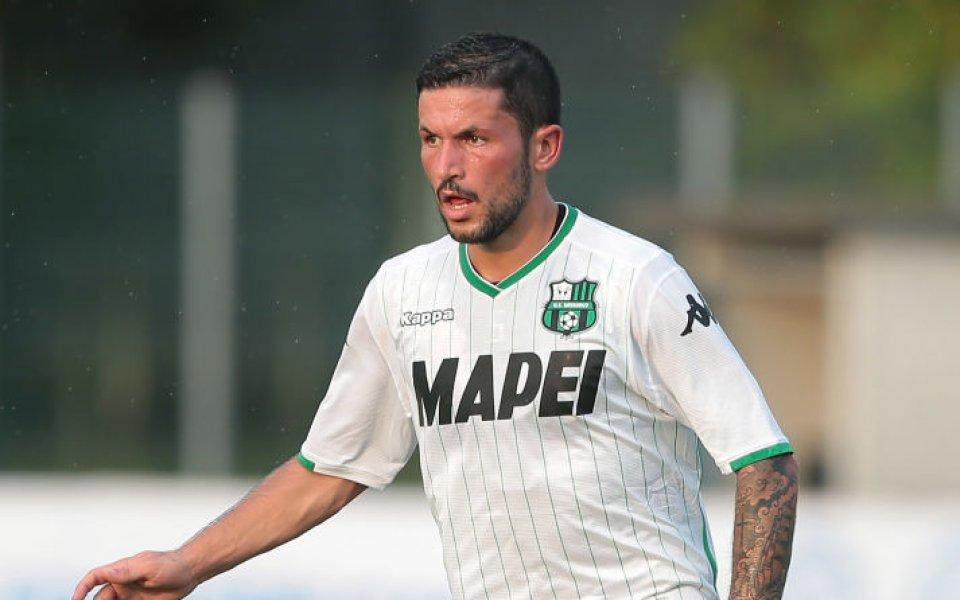 Халф на Сасуоло се оказа желан от Милан и Интер