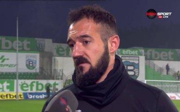 Павел Виданов: Разбрахме се бързо, на разположение на треньора съм