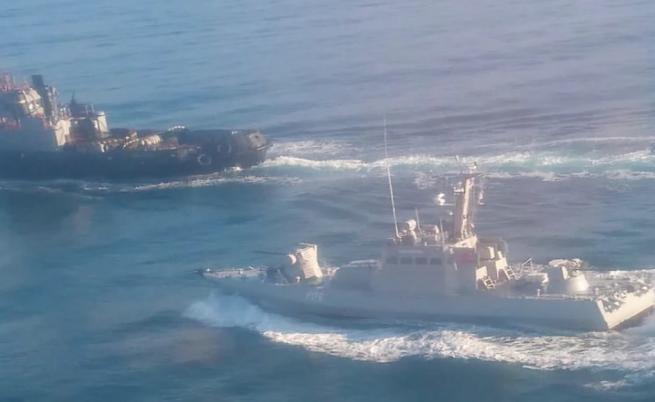 Военна ескалация в Черно море между Русия и Украйна