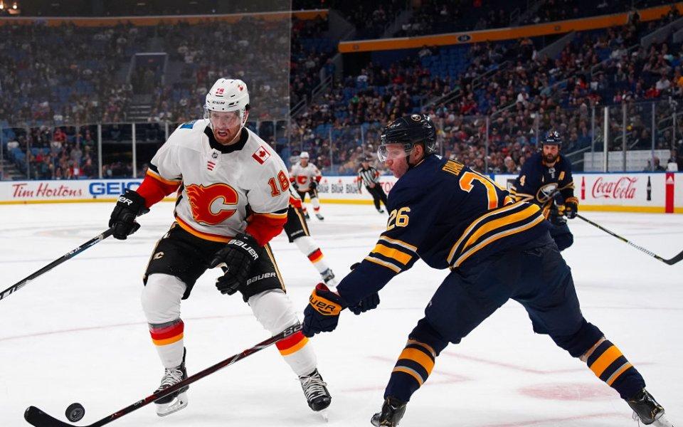 Бъфало записа 10-а поредна победа в НХЛ и изравни рекорд