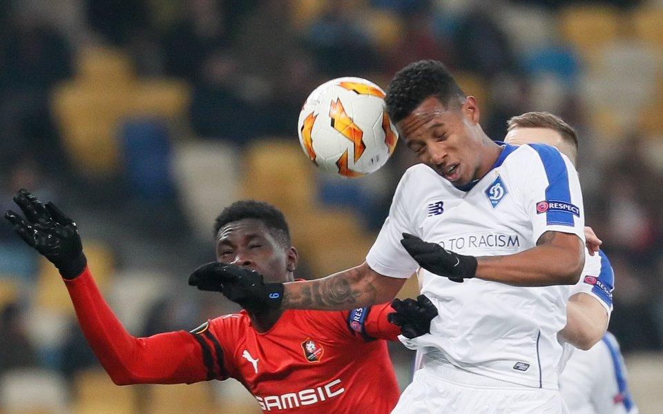 Динамо Киев продължава в следващата фаза на Лига Европа