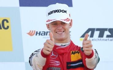 Мик Шумахер с тестов дебют за Ферари