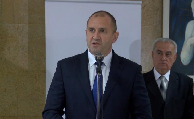 Радев: Нямаме интерес от милитаризация на Черно море